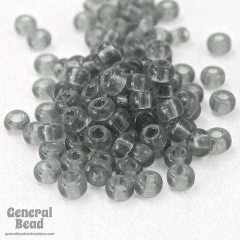 11/0 Transparent Grey Japanese Seed Bead-General Bead