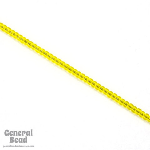 11/0 Transparent Yellow Japanese Seed Bead-General Bead