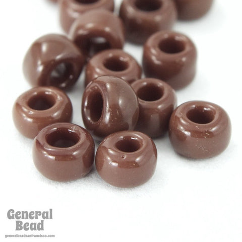 6/0 Opaque Chocolate Japanese Seed Bead-General Bead