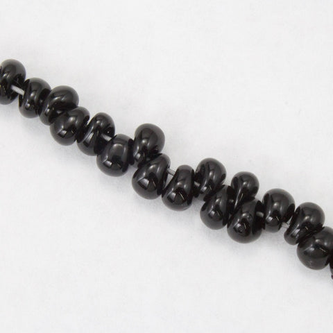 4mm Black Magatama Bead-General Bead