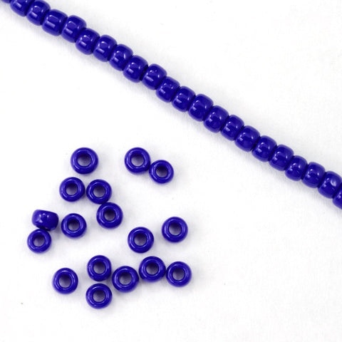 8/0 Opaque Royal Blue Seed Bead-General Bead