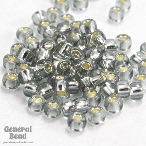 11/0 Silver Lined Light Grey Japanese Seed Bead-General Bead