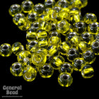 11/0 Silver Lined Citrine Yellow Japanese Seed Bead-General Bead