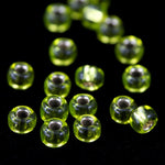 8/0 Silver Lined Chartreuse Seed Bead-General Bead