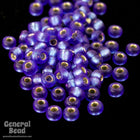 11/0 Semi Matte Gold Lined Cobalt Japanese Seed Bead-General Bead