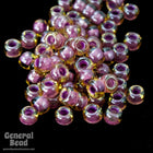 11/0 Mauve Lined Champagne Japanese Seed Bead-General Bead
