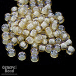 11/0 Opal Dark Cream Lined Champagne Japanese Seed Bead-General Bead