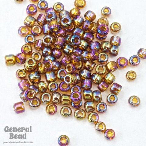 11/0 Transparent Rootbeer AB Japanese Seed Bead-General Bead