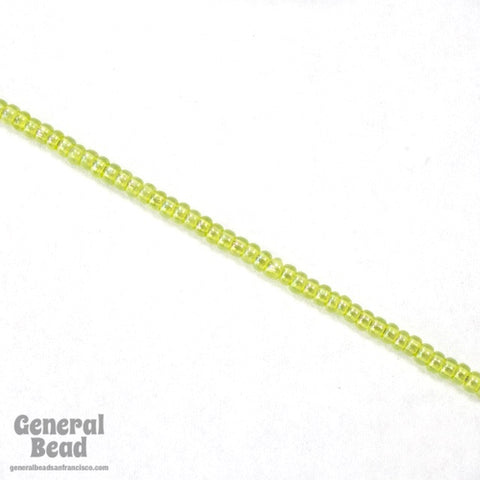 11/0 Transparent Chartreuse AB Japanese Seed Bead-General Bead