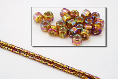 11/0 Silver Lined Champagne AB Japanese Seed Bead (20 gm) #JLJ011-General Bead