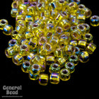 11/0 Silver Lined Yellow AB Japanese Seed Bead-General Bead