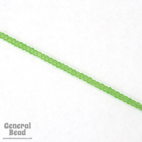 11/0 Matte Transparent Light Green Japanese Seed Bead-General Bead