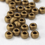 8/0 Matte Metallic Bronze Seed Bead-General Bead