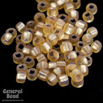 11/0 Matte Silver Lined Gold Japanese Seed Bead-General Bead