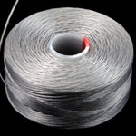 Gray Superlon Nylon Size D Thread #LNB001-General Bead