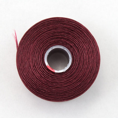 Burgundy Superlon Nylon Size D Thread