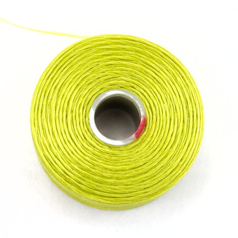 Chartreuse Superlon Nylon Size D Thread
