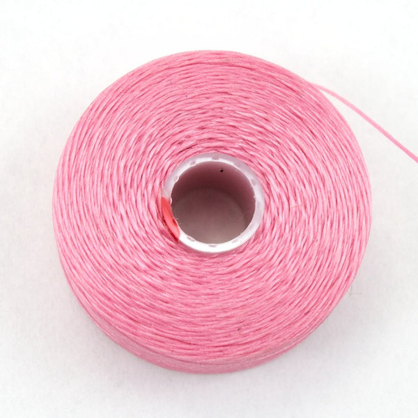 Pink Superlon Nylon Size D Thread #LNB015