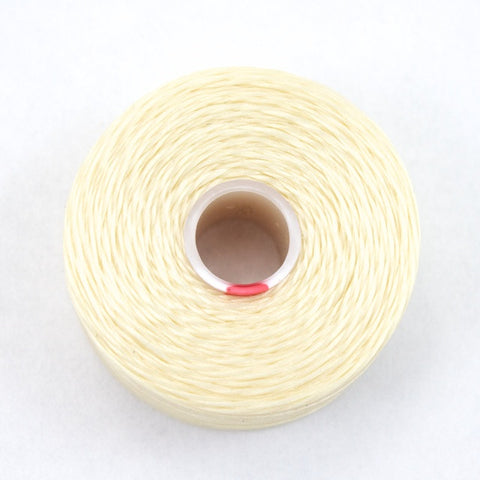 Cream Superlon Nylon Size D Thread