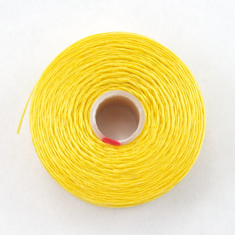 Yellow Superlon Nylon Size D Thread