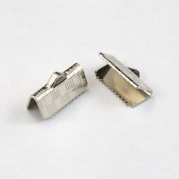 1/2 Inch Silver Tone Bar Clamp