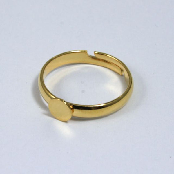 Small Gold Ring Base