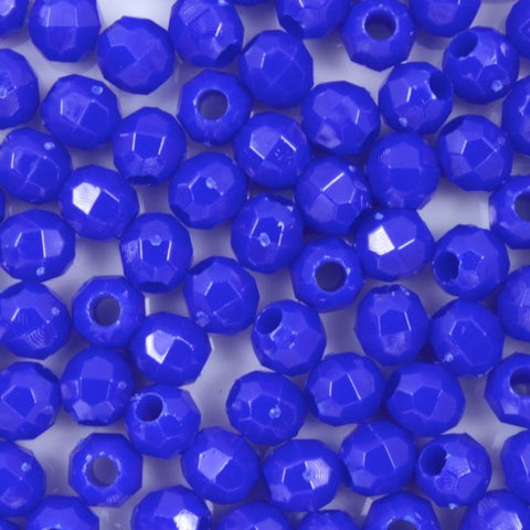 Quality Opaque Blue Plastic Bead-General Bead