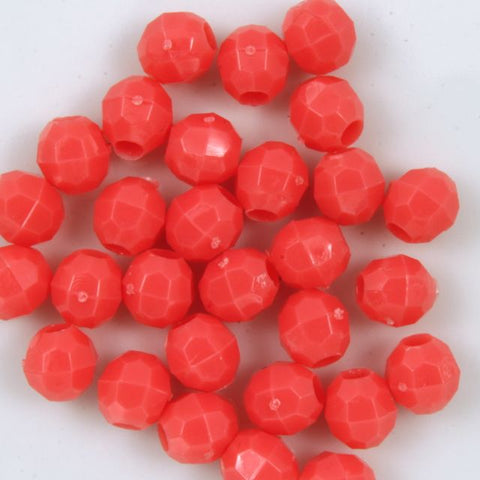 Quality Opaque Coral Plastic Bead