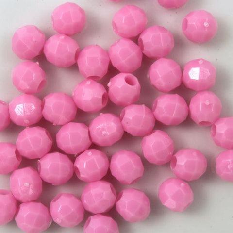 Quality Opaque Lt. Pink Plastic Bead