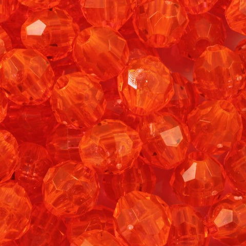 Hyacinth Quality Plastic Faceted Bead-General Bead