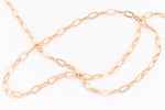 2mm Rose Gold Filled Drawn Cable Chain #RGT089-General Bead