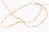 2mm Rose Gold Filled Drawn Cable Chain #RGT089