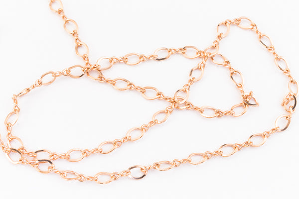 2mm Rose Gold Filled Figure 8 Chain #RGW089