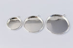 30mm Silver Cabochon Setting #SET102