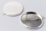 25mm Silver Cabochon Setting #SET101