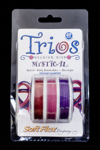 "Soft Flex Trios- ""Mystical"" Medium-General Bead"