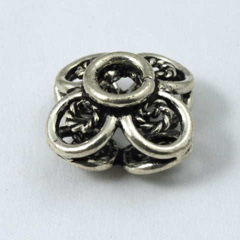 11mm Antique Silver Bead #1089