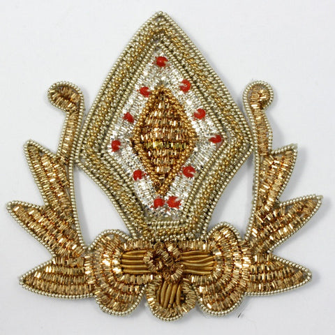 Gold and Silver Diamond Patch