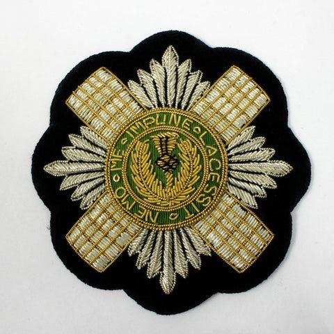85mm Order of the Thistle Patch
