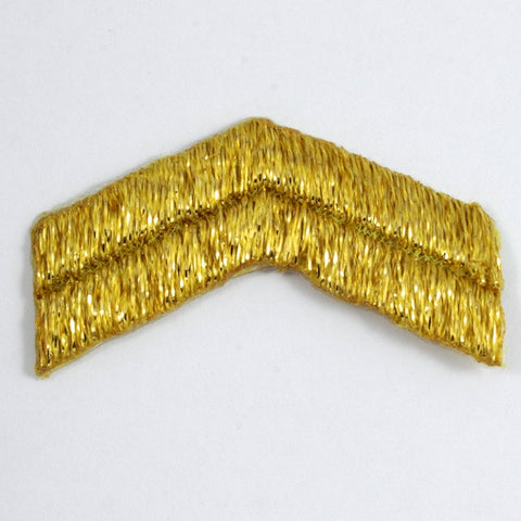 45mm Gold Corporal Rank Insignia