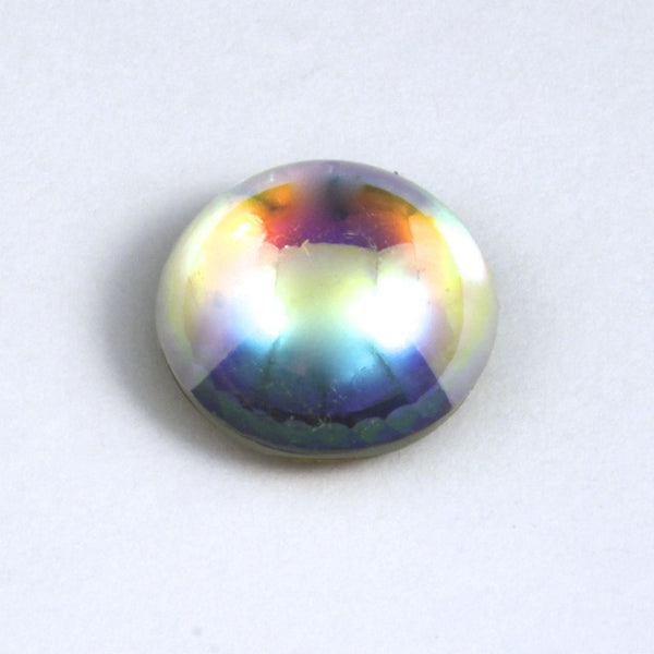 15mm Crystal AB Cabochon #13