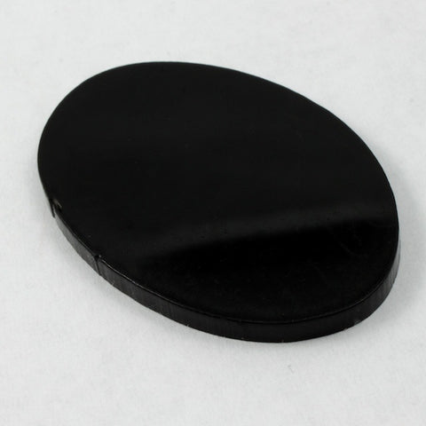 40mm Black Oval