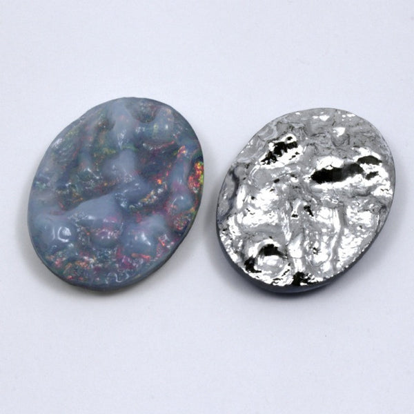 30mm x 40mm Opalescent Oval #14
