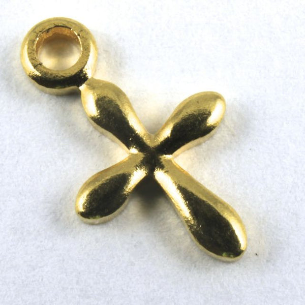 11mm Gold Plated Cross