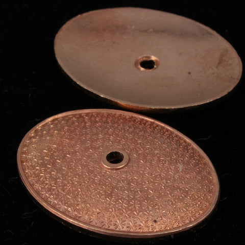 18mm x 25mm Copper Oval