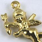 25mm Double-sided Gold Cupid #155-General Bead