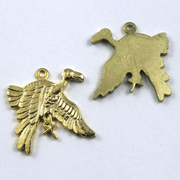 20mm Gold Vulture