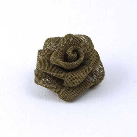 15mm Brass Mesh Rose #1637