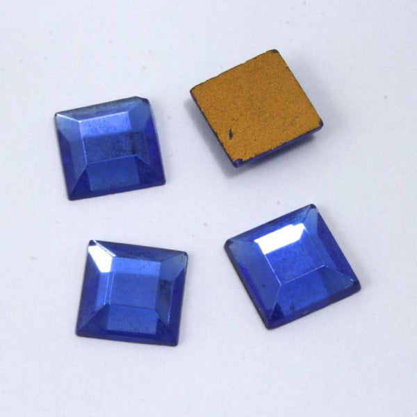 10mm Royal Blue Square Cabochon #1702