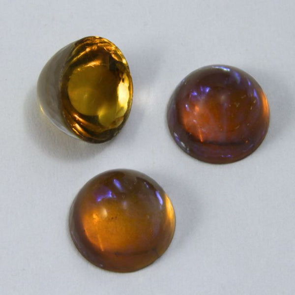 11mm Dark Topaz Fire Opal #1716